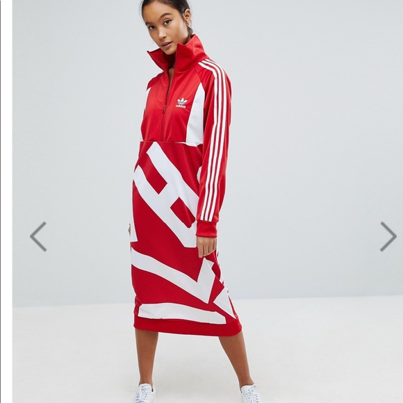 7817abed075 adidas Dresses & Skirts - Adidas Originals Bold Age Track Dress